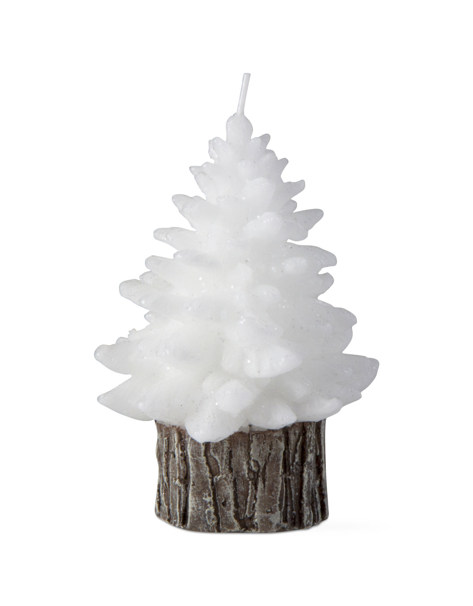 Tag TAG   spruce small rustic tree candle
