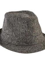 San Diego Hat Company San Diego Hat Co. | Kids Tweed Fedora - black