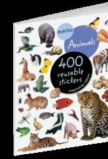 Workman Publishing Eyelike Sticker Book   Animals