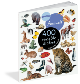 Workman Publishing Eyelike Sticker Book | Animals