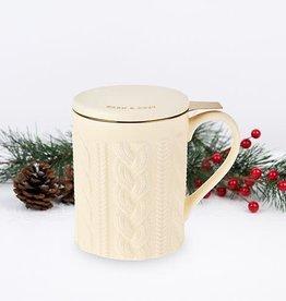 Pinky Up! PinkyUp!   Annette Knit Ceramic Tea Mug & Infuser