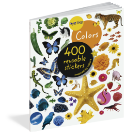 Workman Publishing Eye Like Sticker Book | Colors
