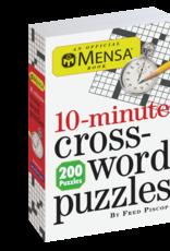 Workman Publishing Mensa 10-Minute Crossword Puzzles