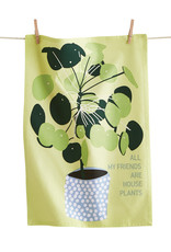 Tag TAG | all my friends are house plants dishtowel
