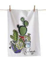 Tag TAG | not a hugger cactus dishtowel