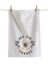 Tag TAG   bee the change do your own sting floursack dishtowel
