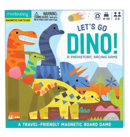 mudpuppy MudPuppy   Let's Go Dino Magnetic Board Game