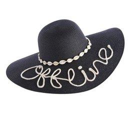 Shiraleah OFFLINE SUN HAT,BLACK