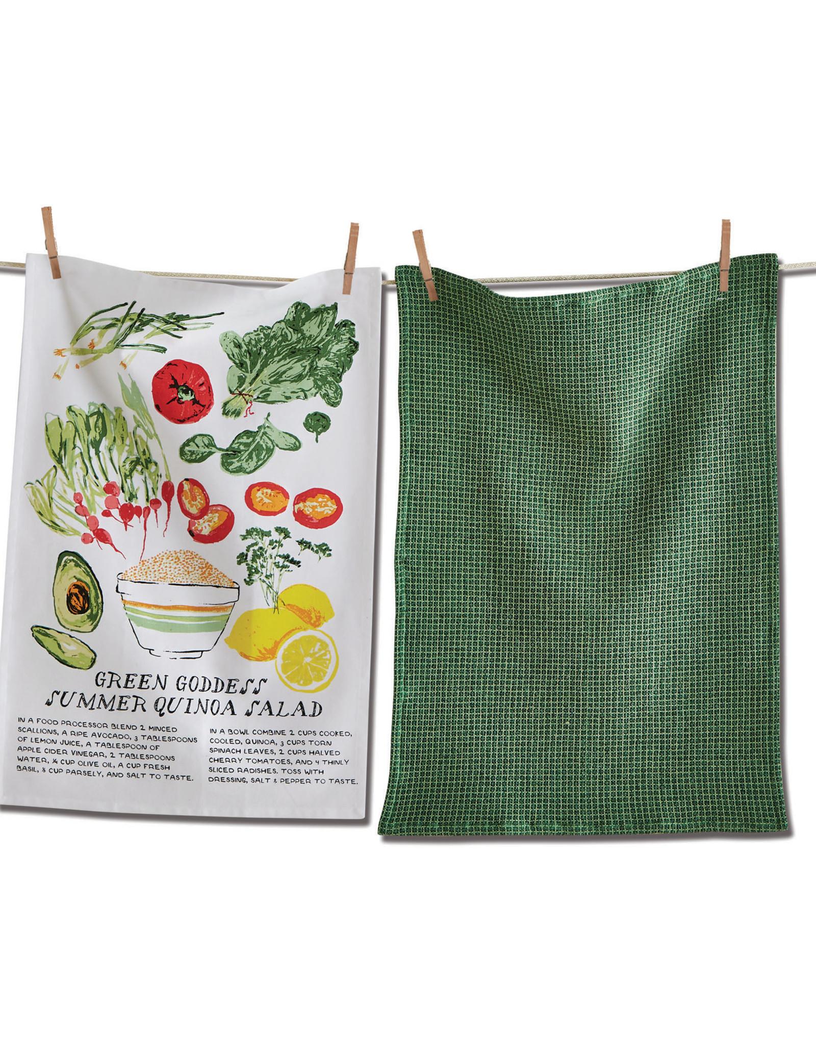 Tag TAG | green goddess salad dishtowel set of 2