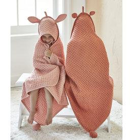 Tag TAG   bear hooded waffle weave towel