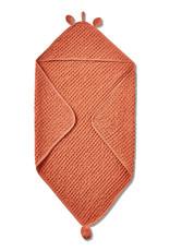 Tag TAG | bear hooded waffle weave towel