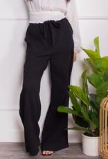 Gauze Tie Waist Pants