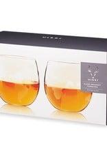 Viski VISKI | globe whiskey tumblers (set of 2)