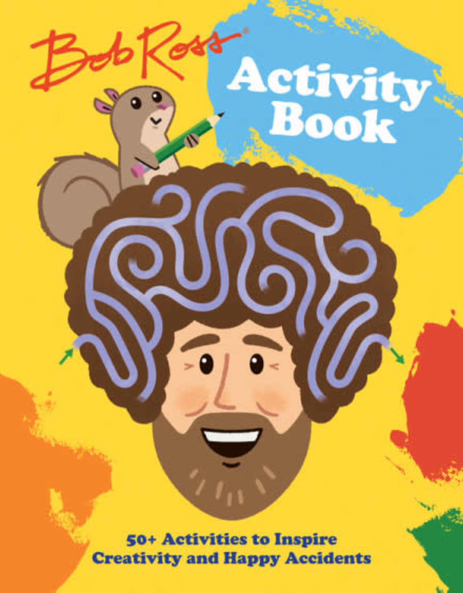 hachette Bob Ross Activity Book