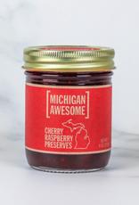 Michigan Awesome Cherry Raspberry Preserves