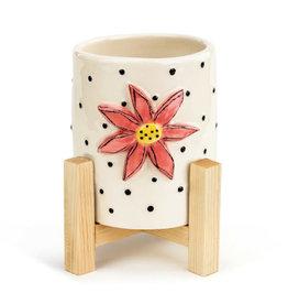 Demdaco Heartful Home | Mini Planter- flower