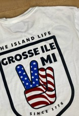 The Island Life The Island Life | Red, White & Blue