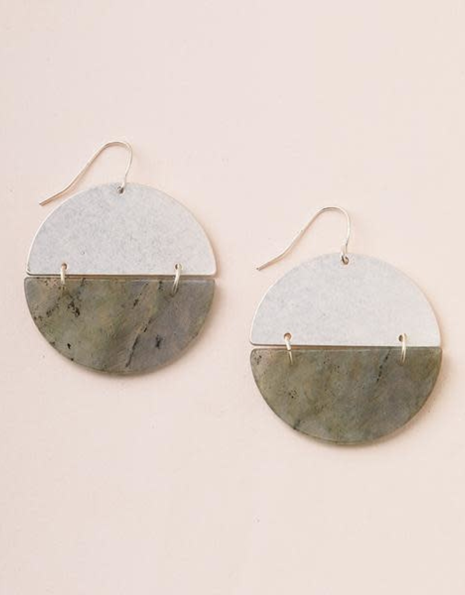 Scout Curated Wears Scout | Full Moon Earrings Labradorite/silver