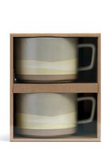 Demdaco Prairie Range Soup Mug Boxed Set