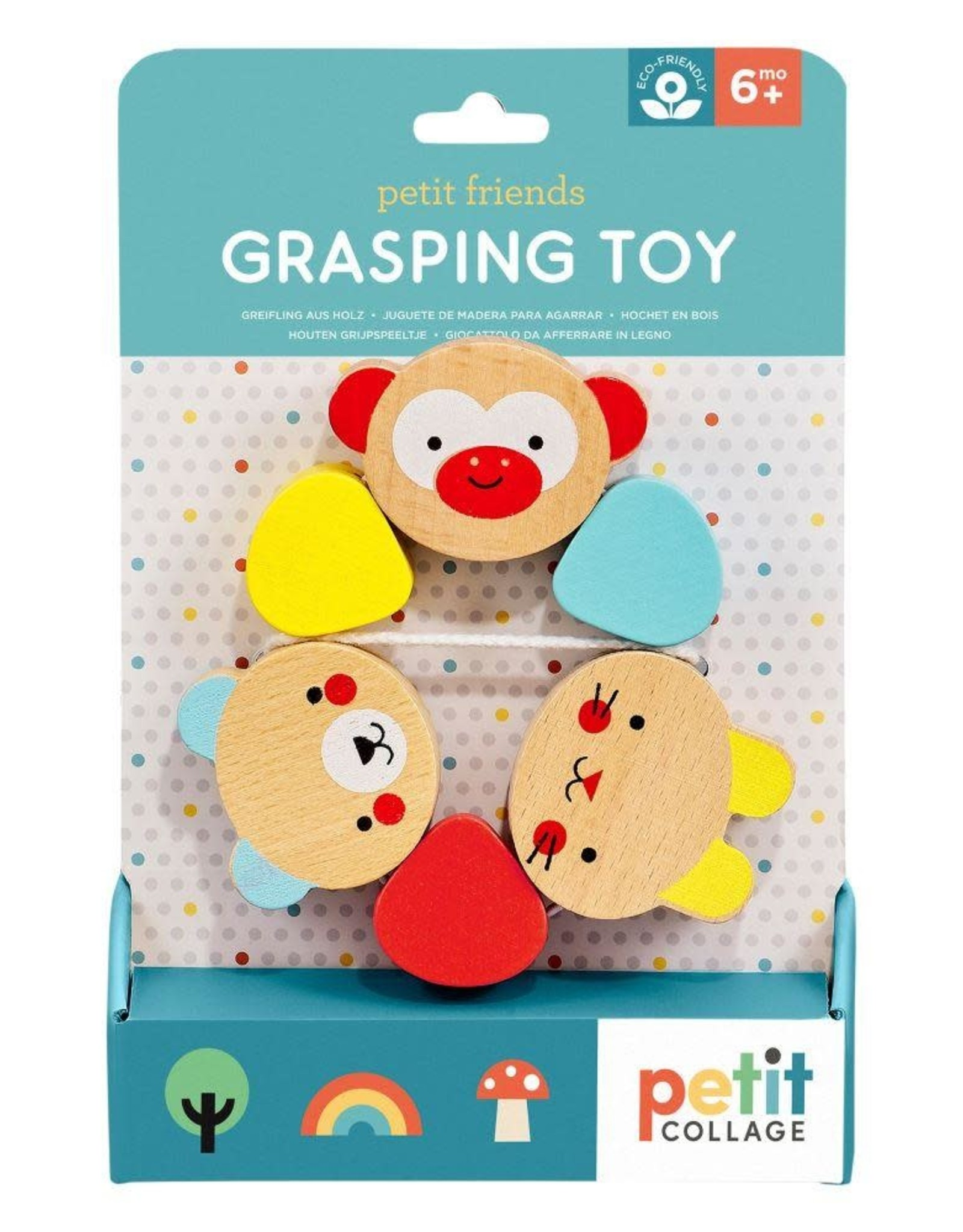 Petit Collage | Petit Friends Grasping Toy