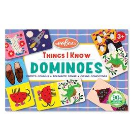 Eeboo Things I Know Dominoes