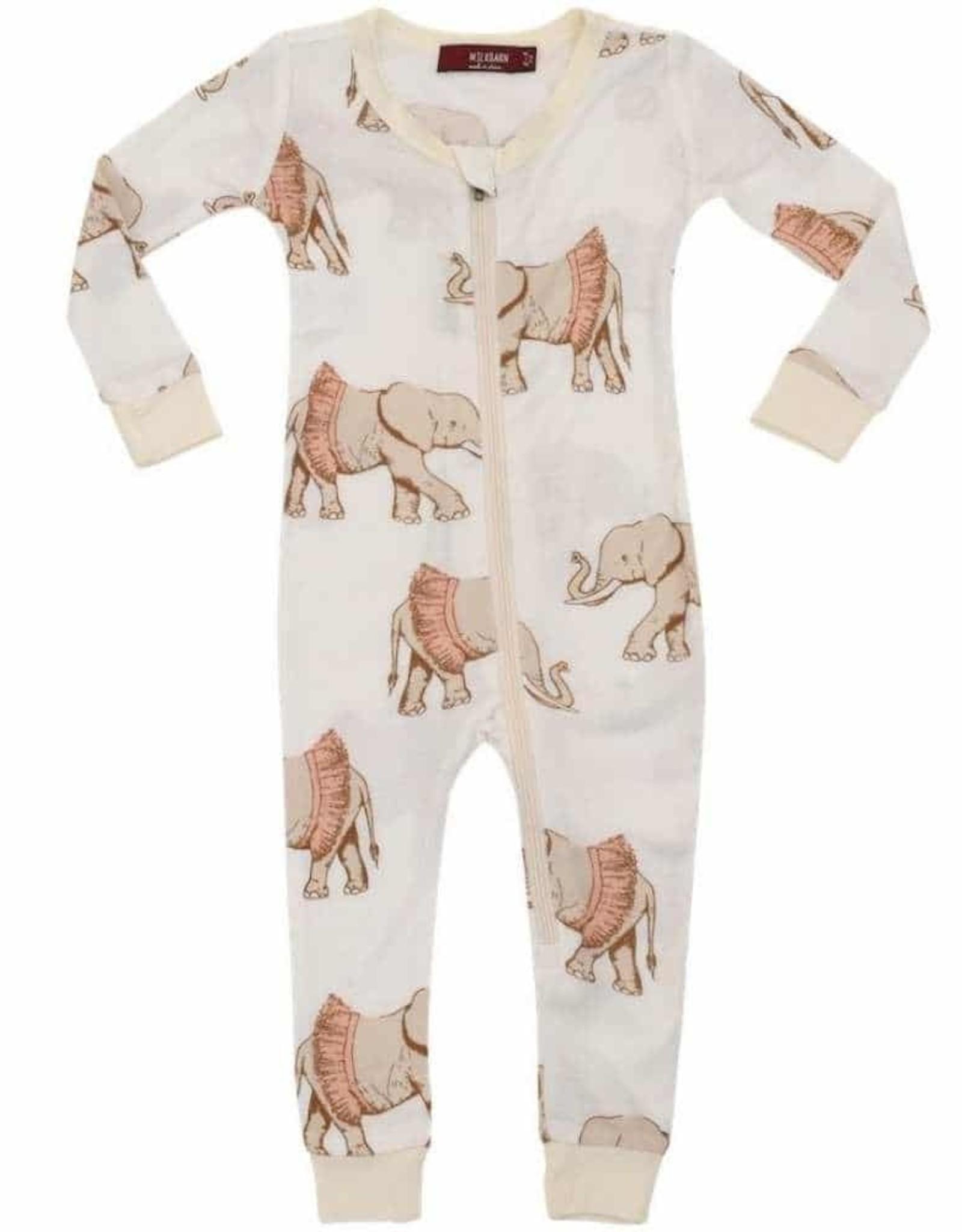 Milkbarn Millkbarn   Zipper Pajamas