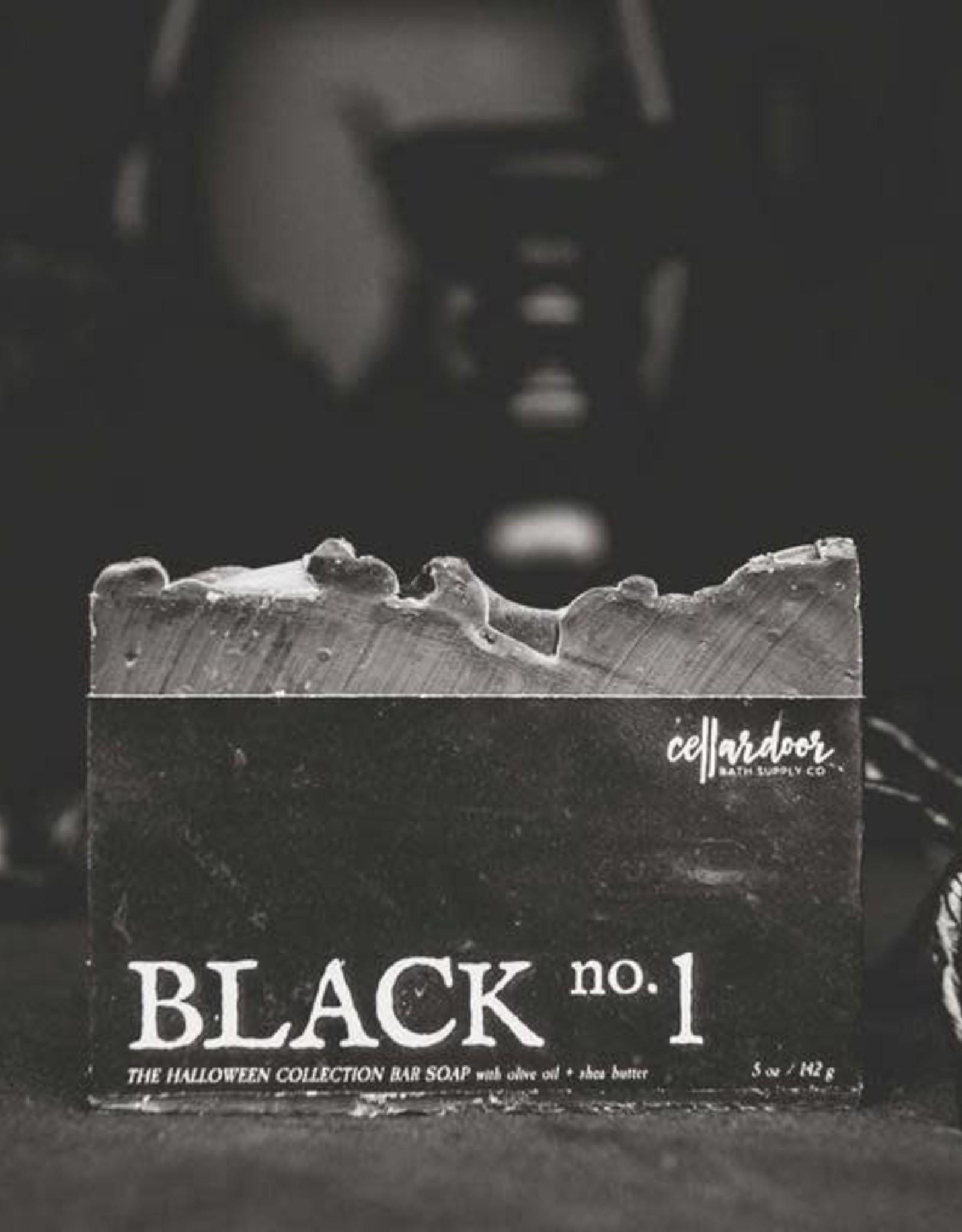 CellarDoor CellarDoor Bath Supply Co.   Black No. 1 Bar Soap