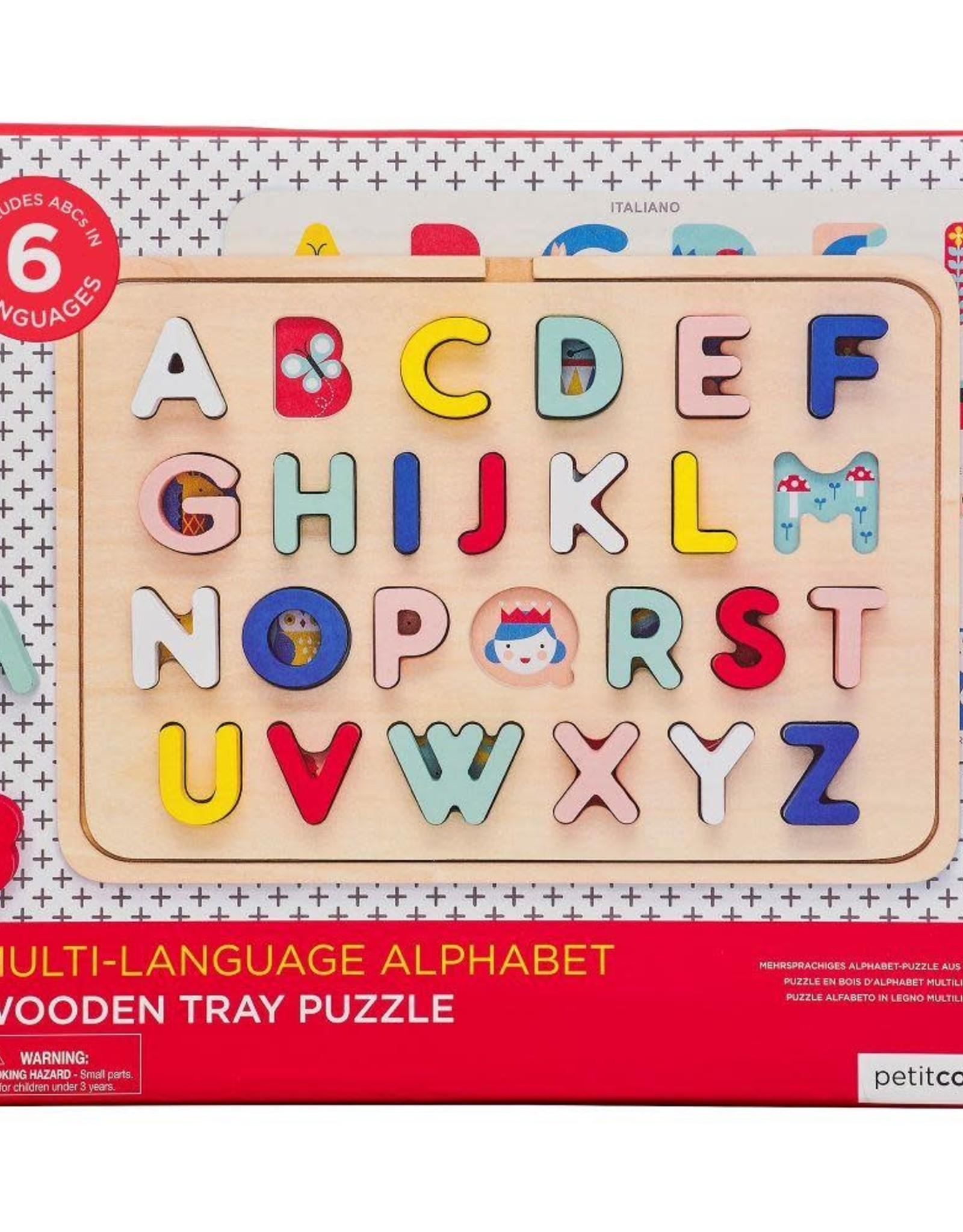 Petit Collage   Wooden Tray Puzzle