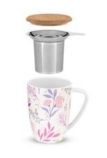 Pinky Up! Pinky Up! | Bailey Botanical Bliss Ceramic Tea Mug & Infuser
