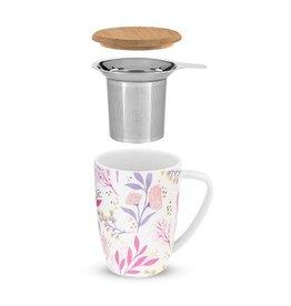 Pinky Up! Pinky Up!   Bailey Botanical Bliss Ceramic Tea Mug & Infuser