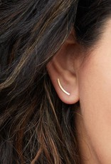 Scout Curated Wears Scout | Refined Earring Collection - Comet Curve/Sterling Silver