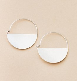 Scout Curated Wears Scout | Refined Earring Collection - Lunar Hoop/Sterling Silver