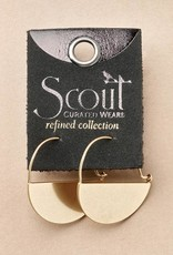 Scout Curated Wears Scout | Refined Earring Collection - Lunar Hoop/Gold Vermeil