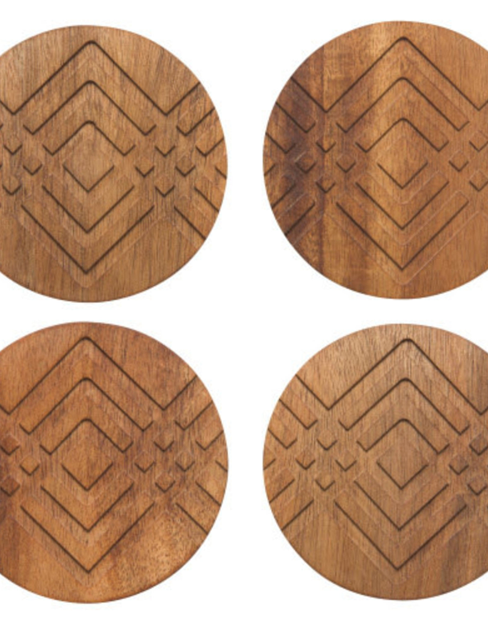 Danica Geo Coasters (set of 4)