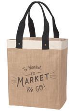 Danica to the market we go tote