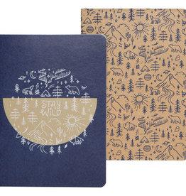 Danica Danica   Stay Wild Notebooks (set of 2)