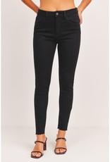 Judy Blue Denim JBD | High Rise Scissor Cut Skinny Jeans - Black