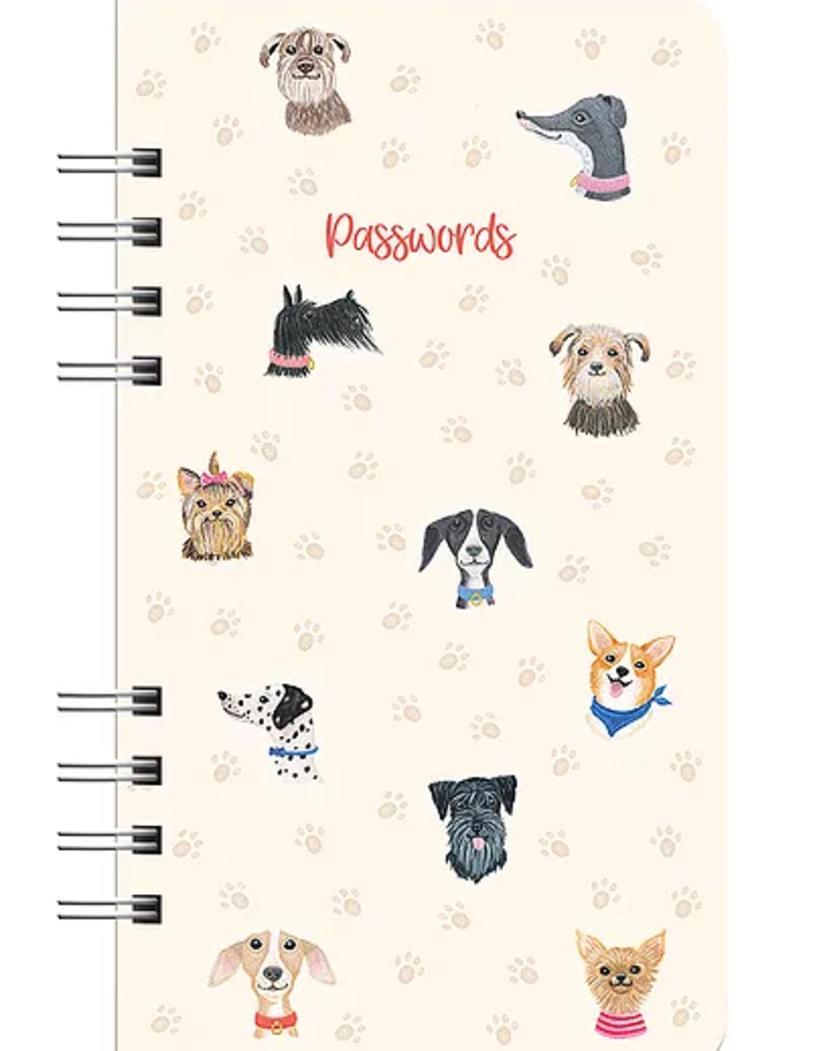 Studio Oh! Studio Oh!  | Doggone Cute Password Logbook