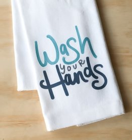 Little Birdie Little Birdie | Wash Your Hands Tea Towel