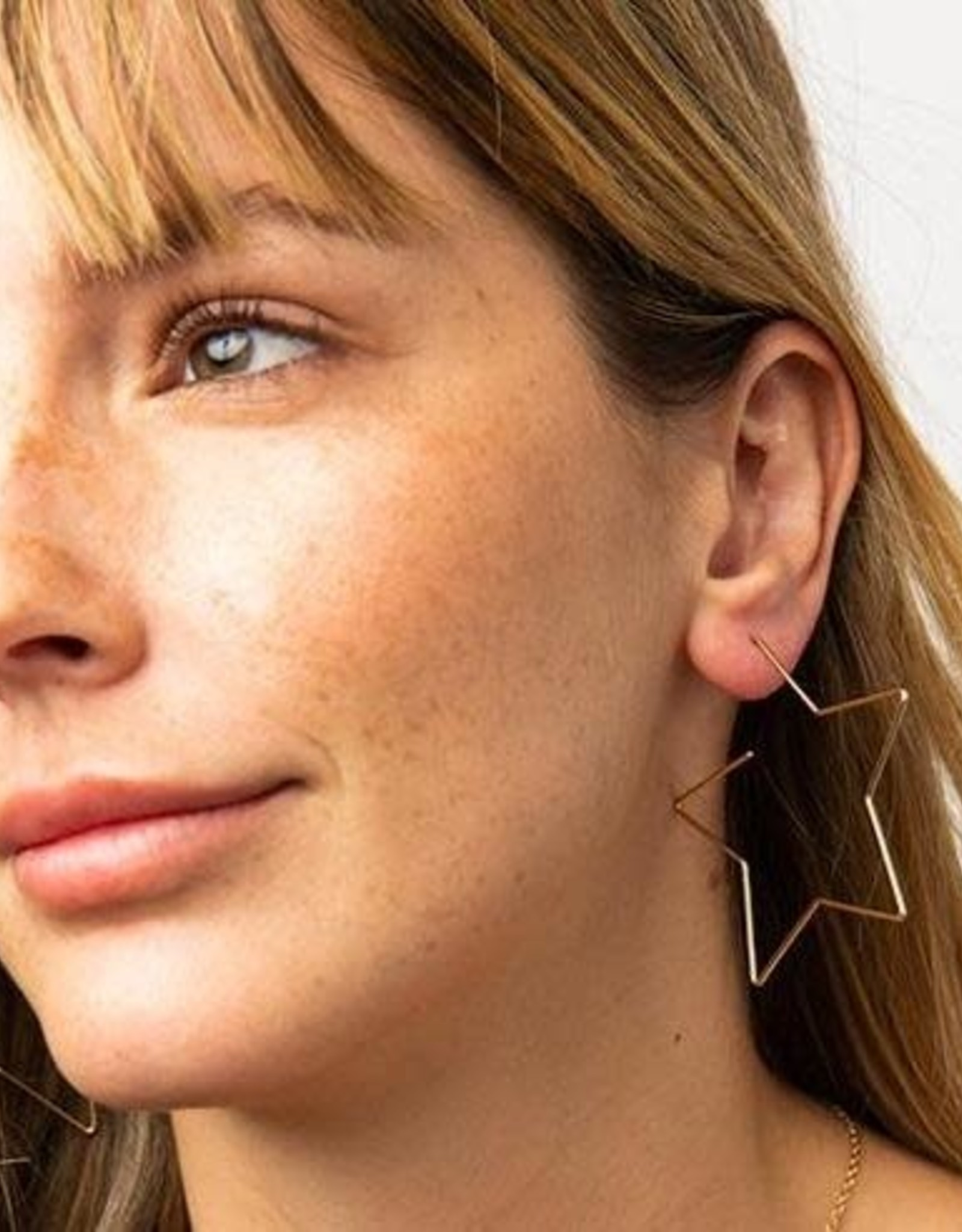 Ink + Alloy Ink + Alloy | Star wire earring