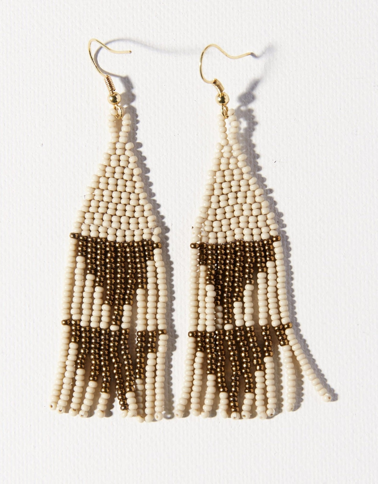 Ink + Alloy Ink + Alloy | Gold Ivory Small Diamond Earring