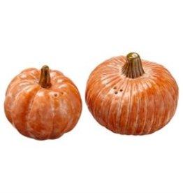 Tag TAG | oversized rustic pumpkin salt + pepper shakers