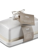 Tag TAG   stoneware butter dish