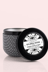 Capri Blue Capri Blue   Smoked Clove & Tabac Gilded Tin, 12.5 oz