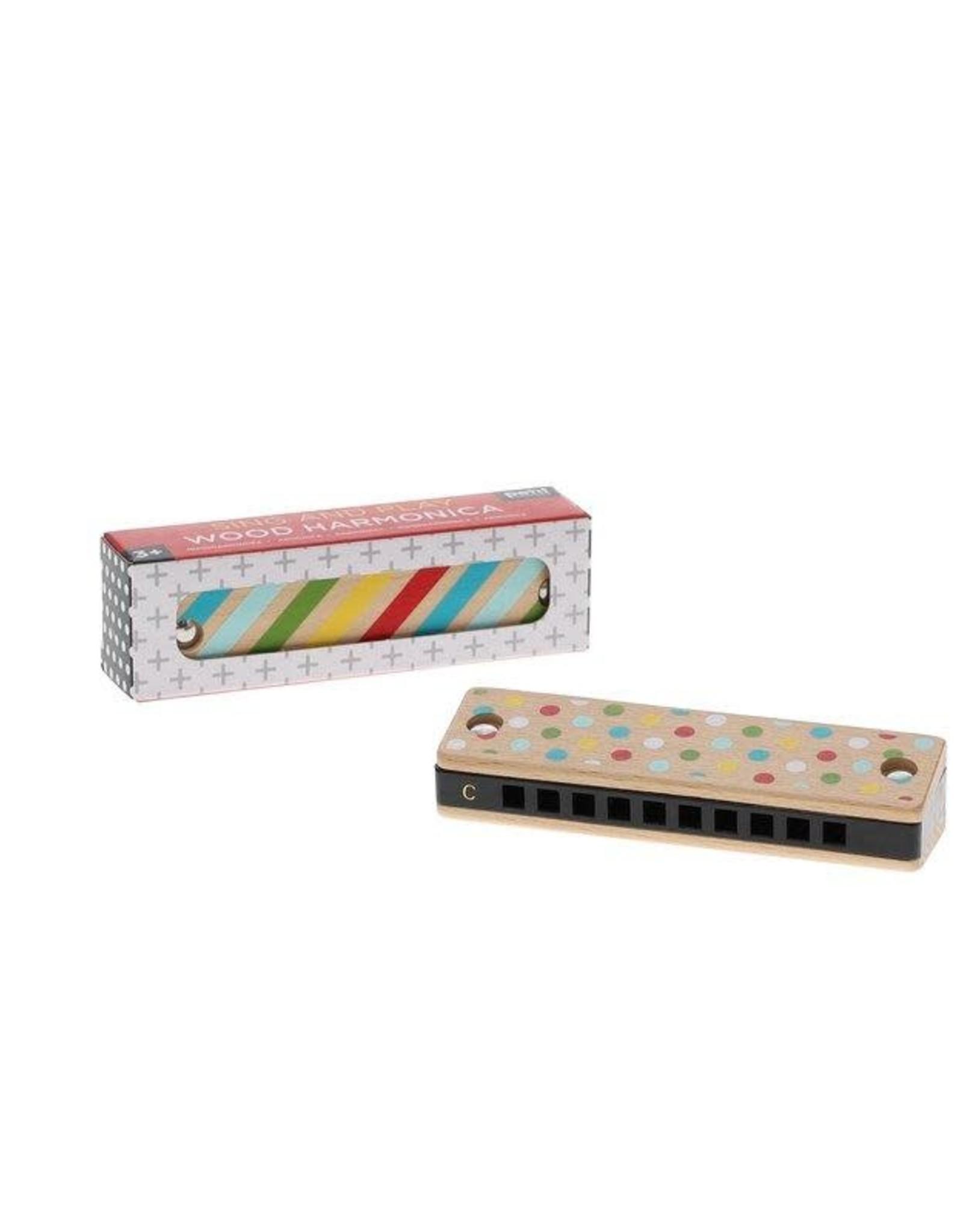 Petit Collage   wood harmonica
