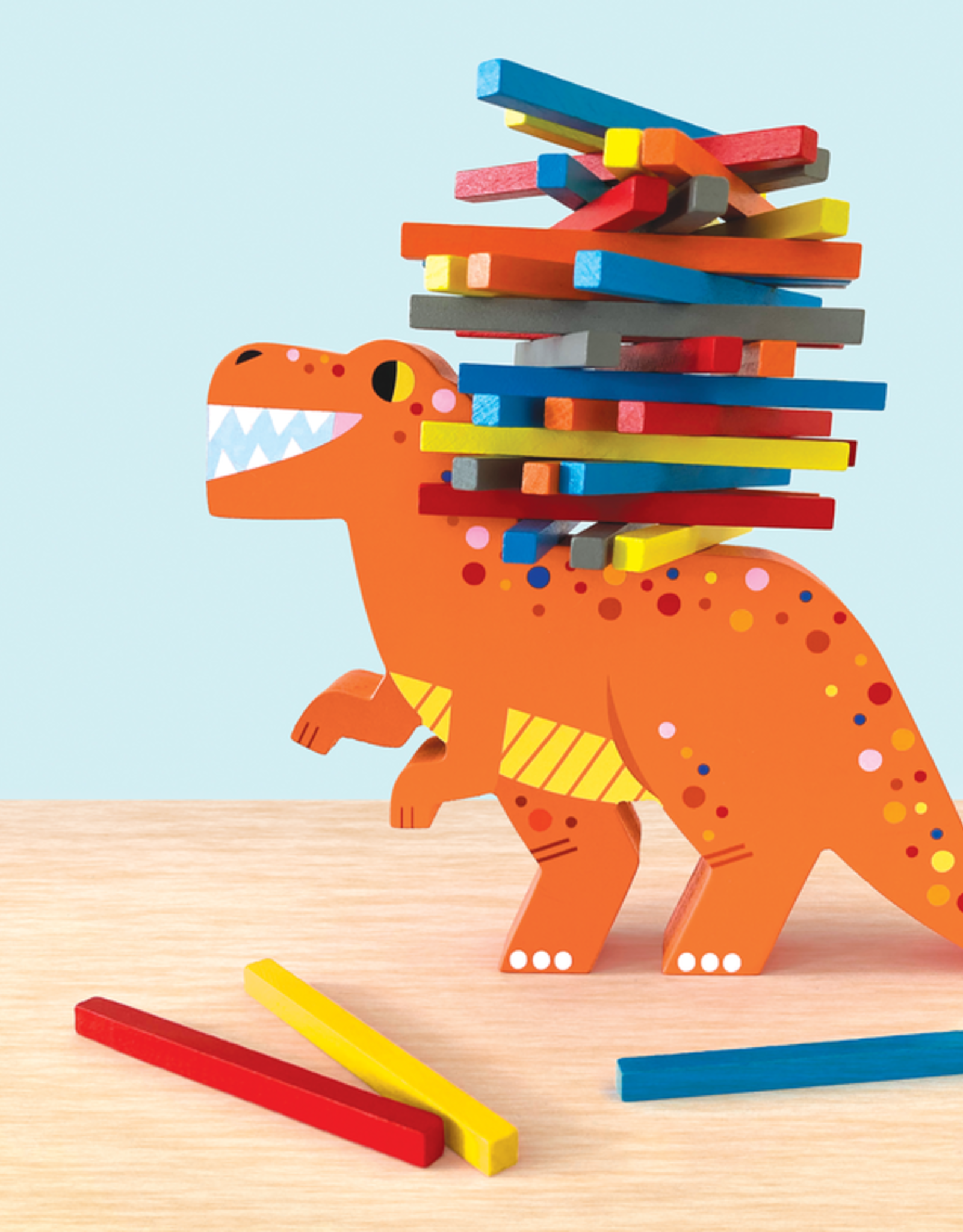 mudpuppy MudPuppy | T-Rex topple Balancing Game