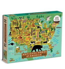 galison national parks of American 1000 pc puzzle