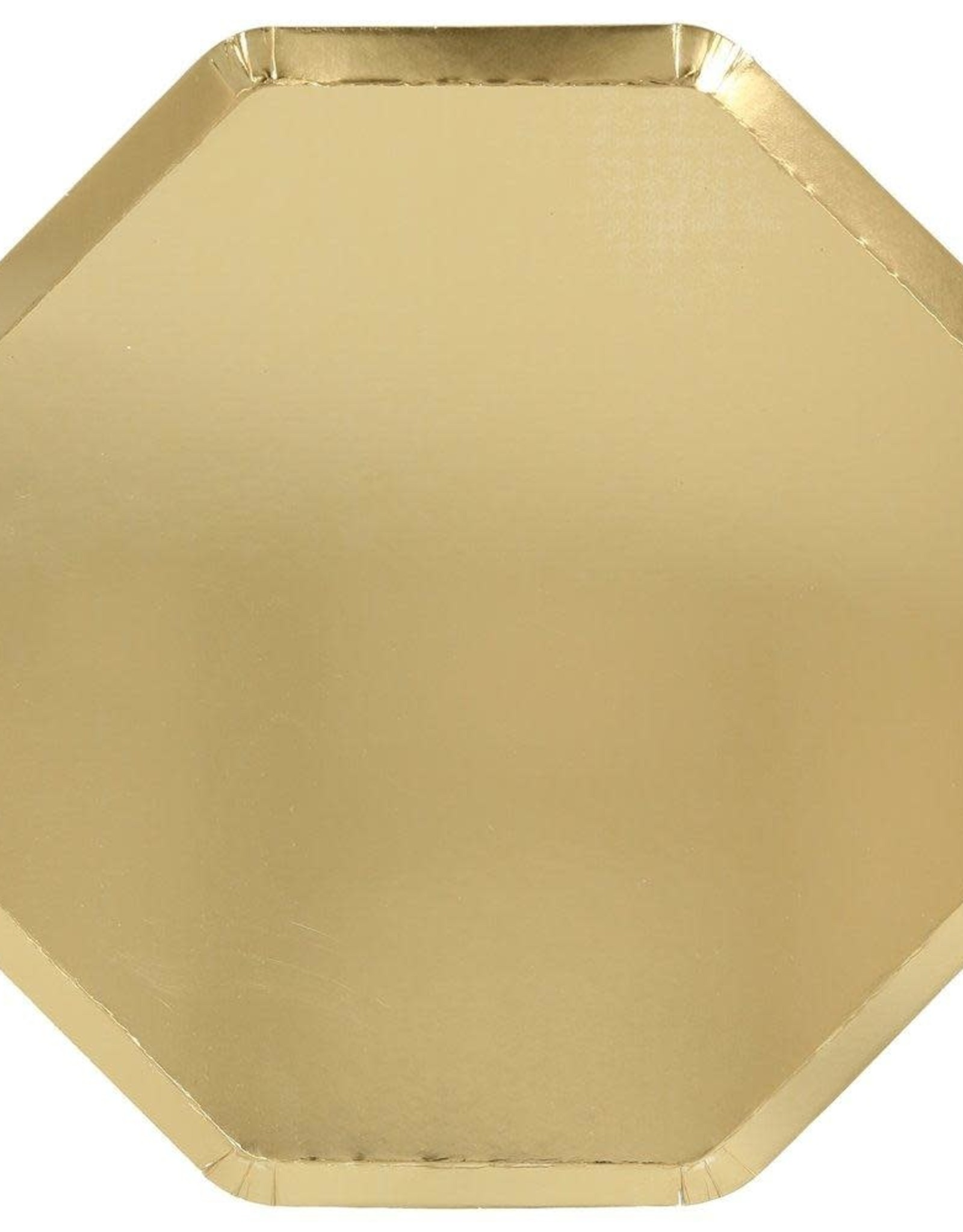 Meri Meri Meri Meri | Gold Dinner Plates (set of 8)