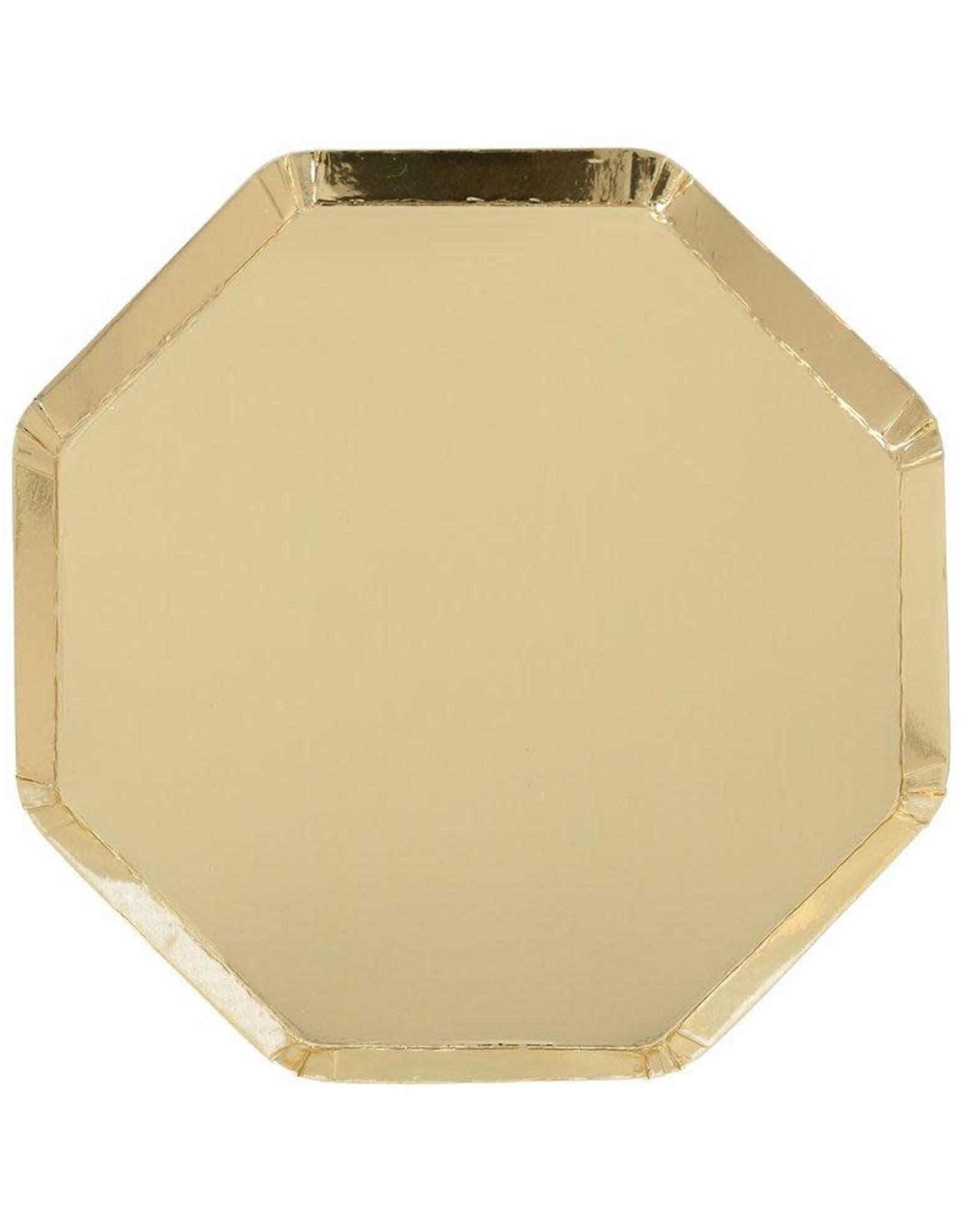 Meri Meri Meri Meri   Gold Side Plates (set of 8)
