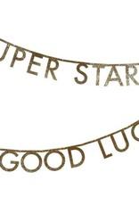 Meri Meri Meri Meri   Gold Glitter Letter Garland Kit